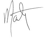Marty Signature